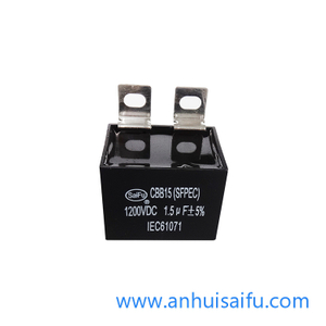 CBB15 Welding Inverter DC Filter Capacitor 1.5uf 500VDC-1400VDC
