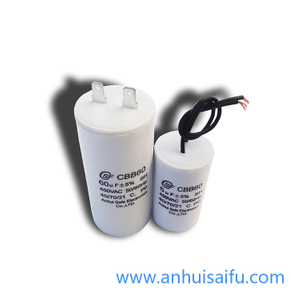CBB60 motor run capacitors 5uf