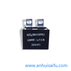 CBB15 Welding Inverter DC Filter Capacitor 1uf 500VDC-1400VDC
