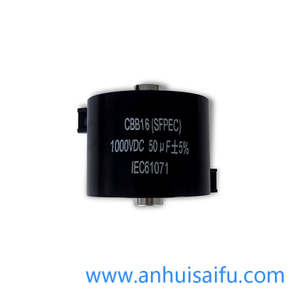 CBB16 Welding Inverter DC Filter Capacitor 50uf 500VDC-1800VDC