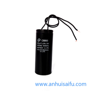 CBB60 motor run capacitors 40uf 45uf