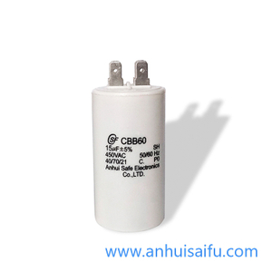 CBB60 motor run capacitors 14uf 16uf